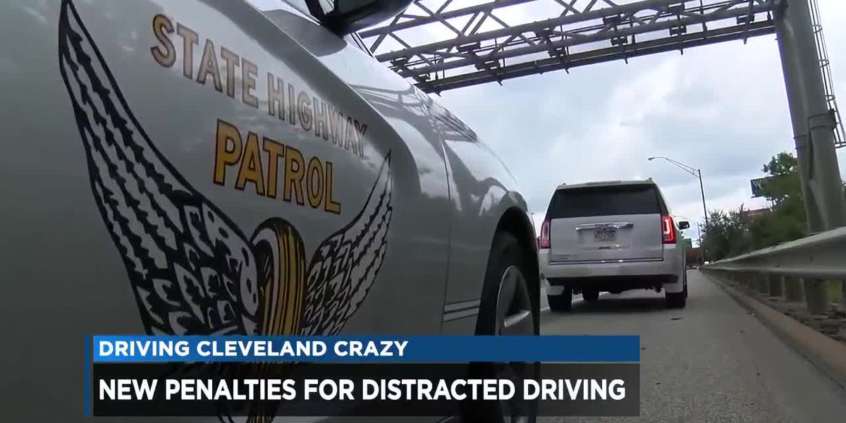 New Ohio distracted driving law now in effect, fines increased
