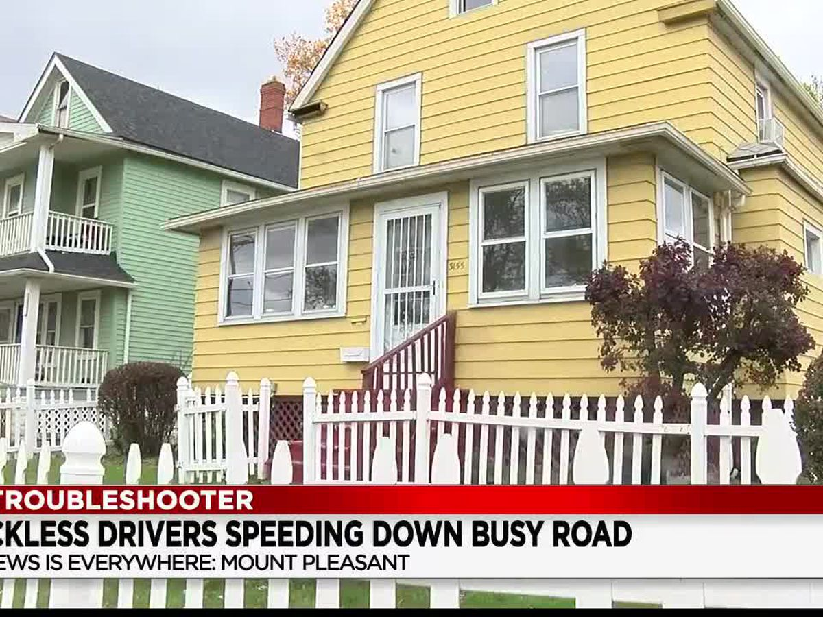 Speeders along a popular stretch of Cleveland's East 116th Street making the lives of some residents dangerously difficult