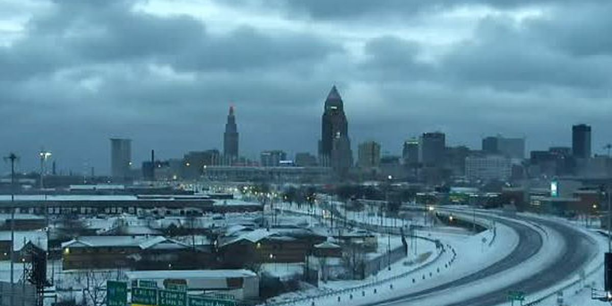 Northeast Ohio Weather: Wind Chills will drop below 0 on Sunday