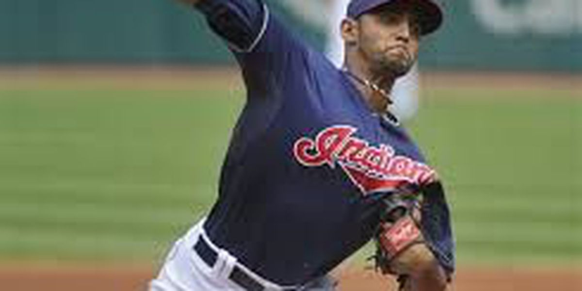Injured Indians righty Salazar throws to hitters in Toronto