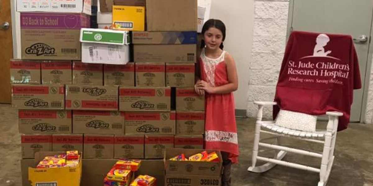 Geauga County fourth-grader turns home into crayon warehouse for creative mission