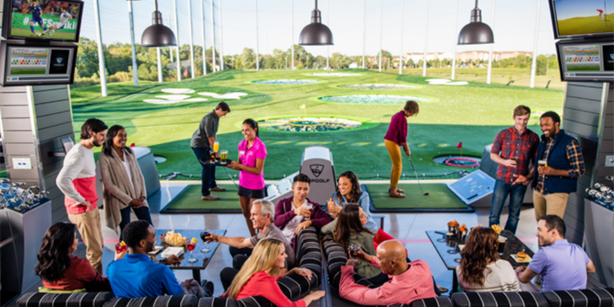 Topgolf opening location in Cleveland area in 2019