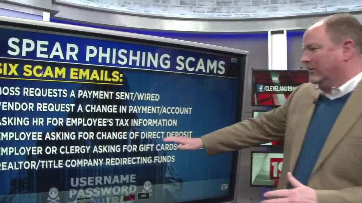 The new 'spear phishing' scams coming after you in Northeast Ohio