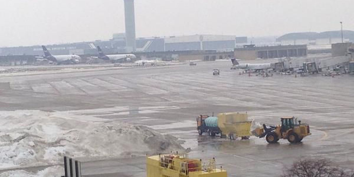 CLE Hopkins Airport worker fired for driving into path of plane on runway