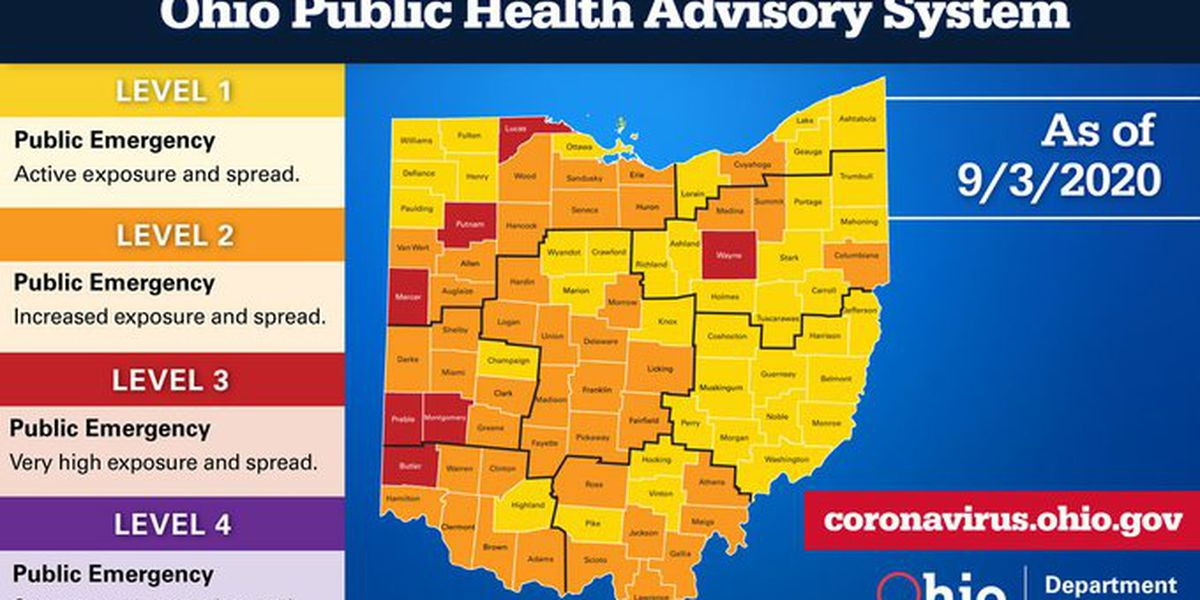 8 new deaths, an additional 1,341 COVID-19 cases reported in Ohio over the last 24 hours