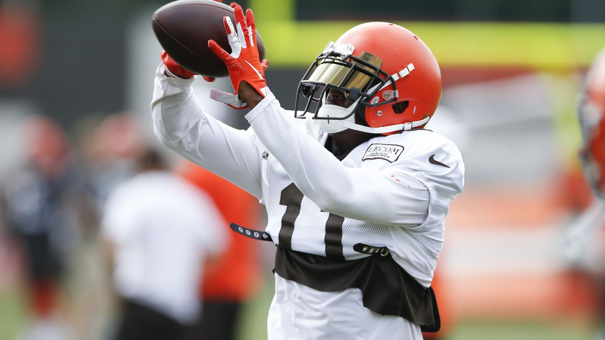Cleveland Browns waive troubled wide receiver Antonio Callaway; reportedly faces 10-game suspension