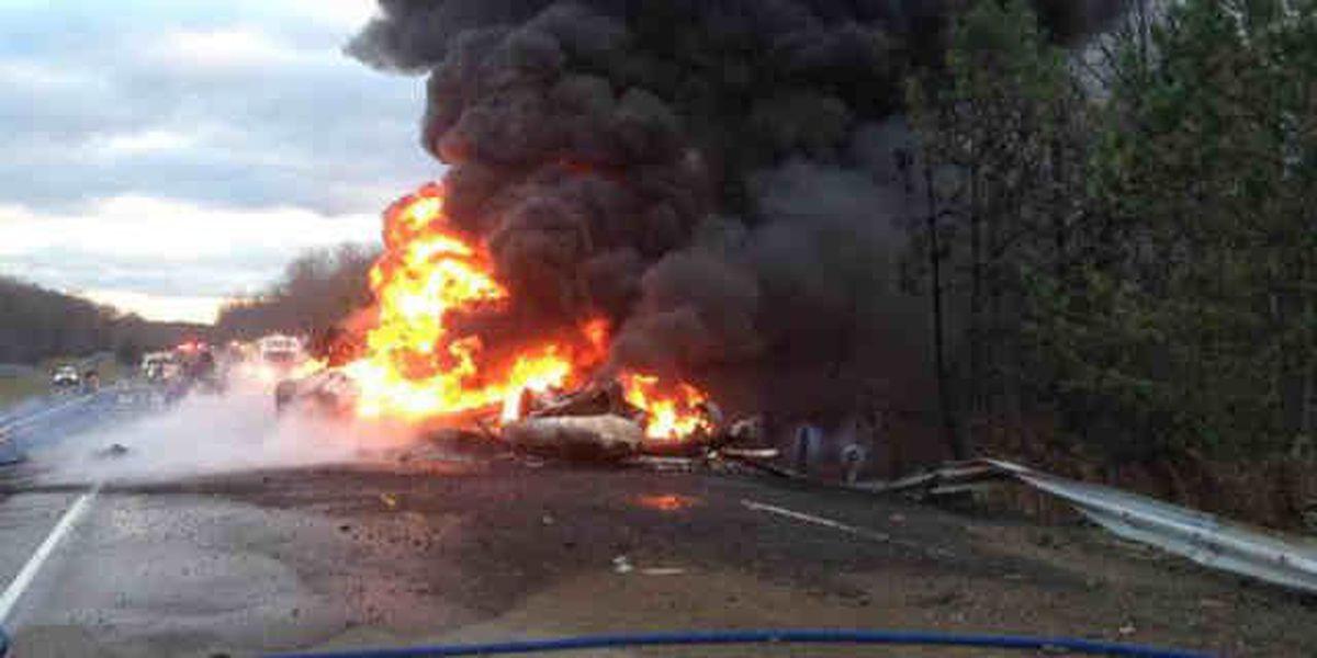 Tanker crash shuts down SR 5 in Portage County