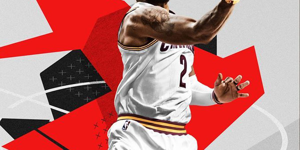 Kyrie's unreal handles land him on video game cover