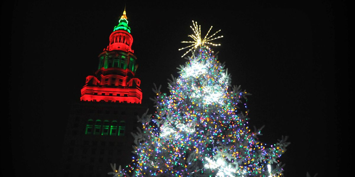 Winterfest lights up Public Square to kick off Cleveland holiday season