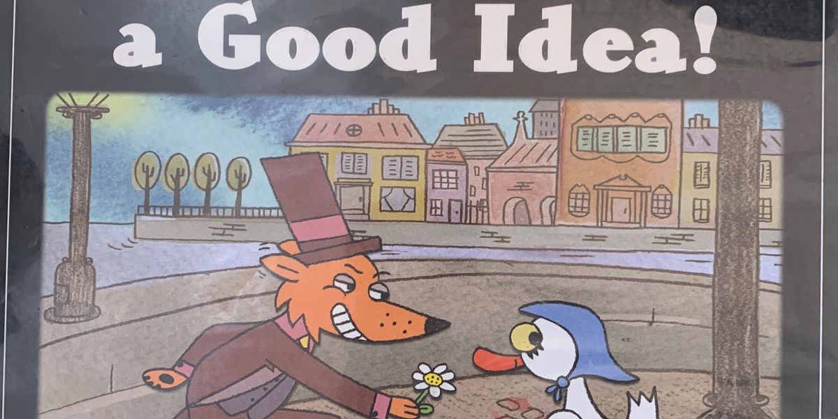 Here's the hilarious picture book, 'This is NOT a Good Idea!' on Story Time with Jamie Sullivan