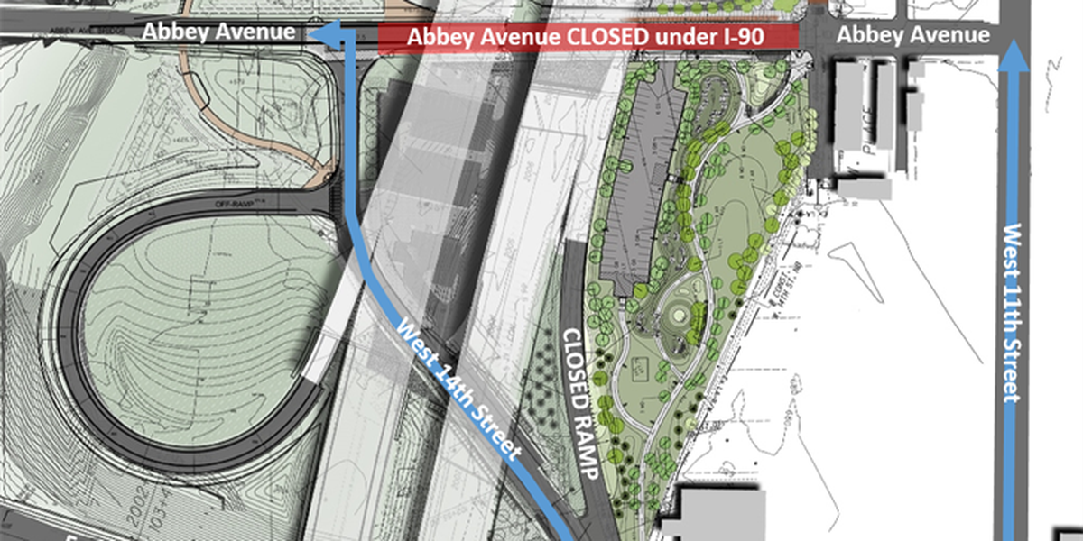 Friday's Innerbelt update could make it more difficult to leave Cleveland (detours)