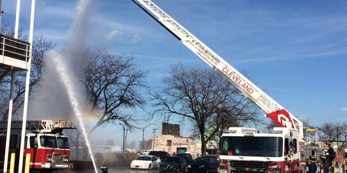 Cleveland shows off its new ladder truck