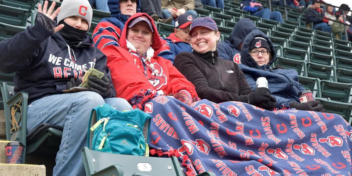 Bundle up! Indians playing coldest game in ballpark history