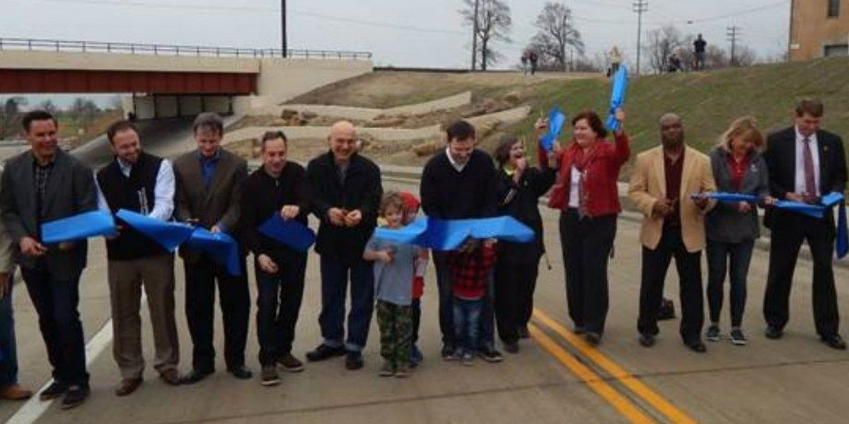 West 73rd Street extension opens link to Lake Erie