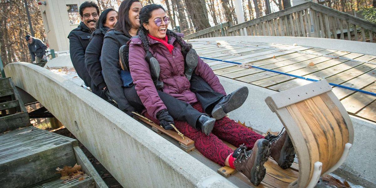 Ohio's tallest, fastest toboggan chutes in Strongsville set to open for the season