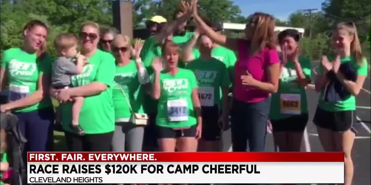 Race raises 120K for Camp Cheerful