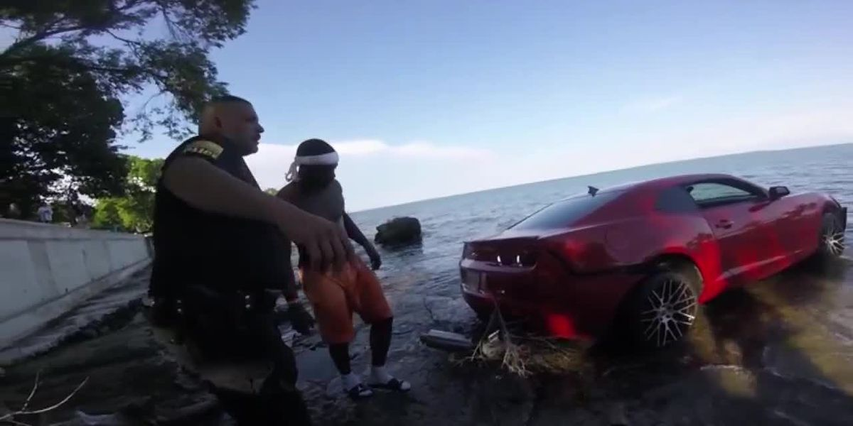 Suspected drunken driver's crash into Lake Erie is latest incident stirring safety concerns in Put-in-Bay (bodycam)