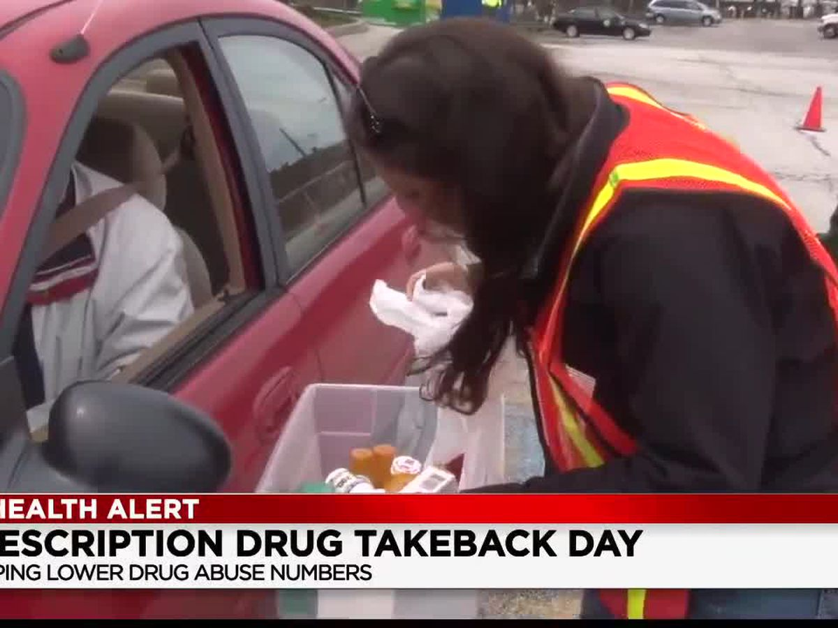 19th Prescription Drug take-back day by the DEA this Saturday
