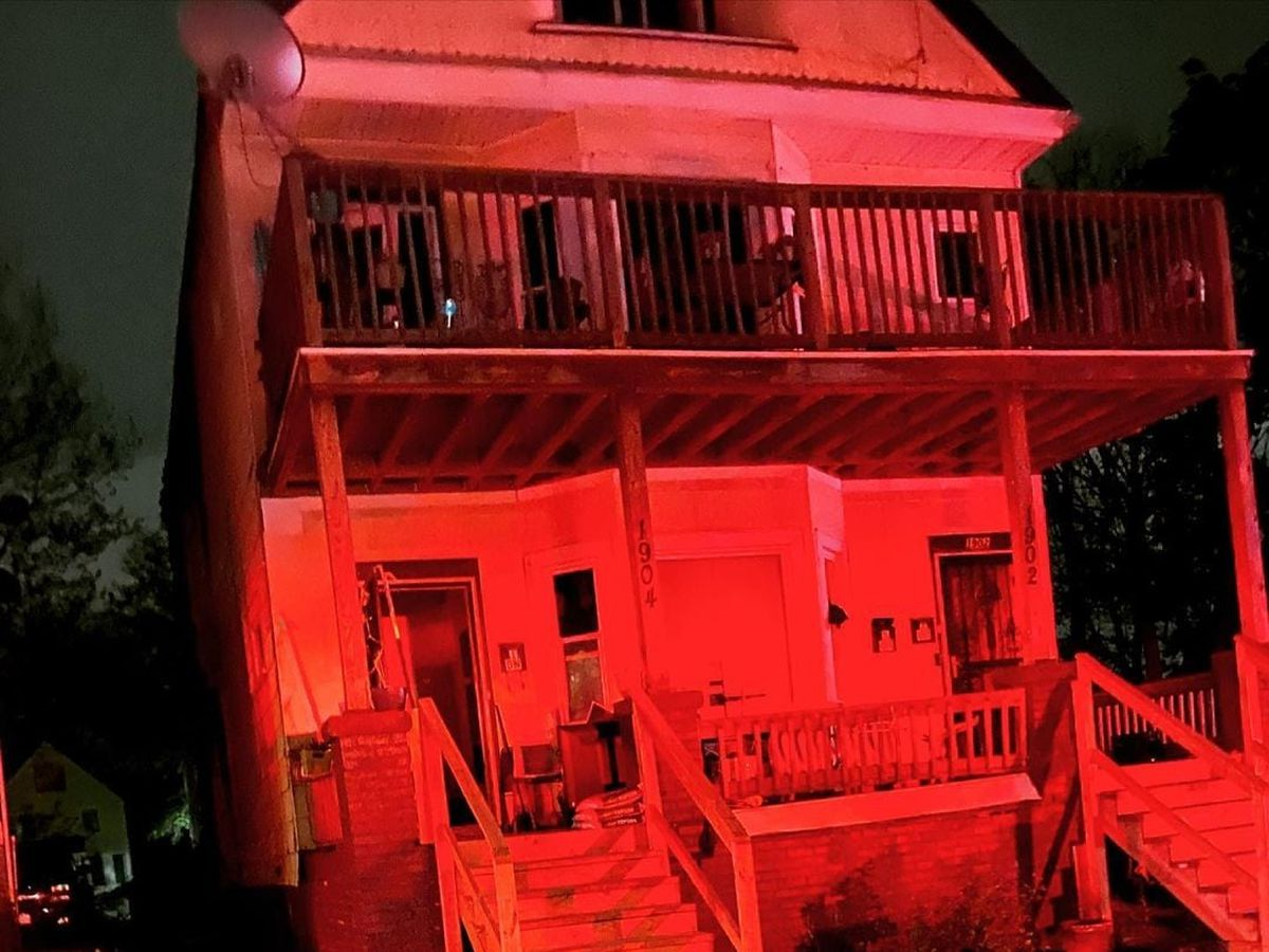 Several people escape from East Cleveland house fire