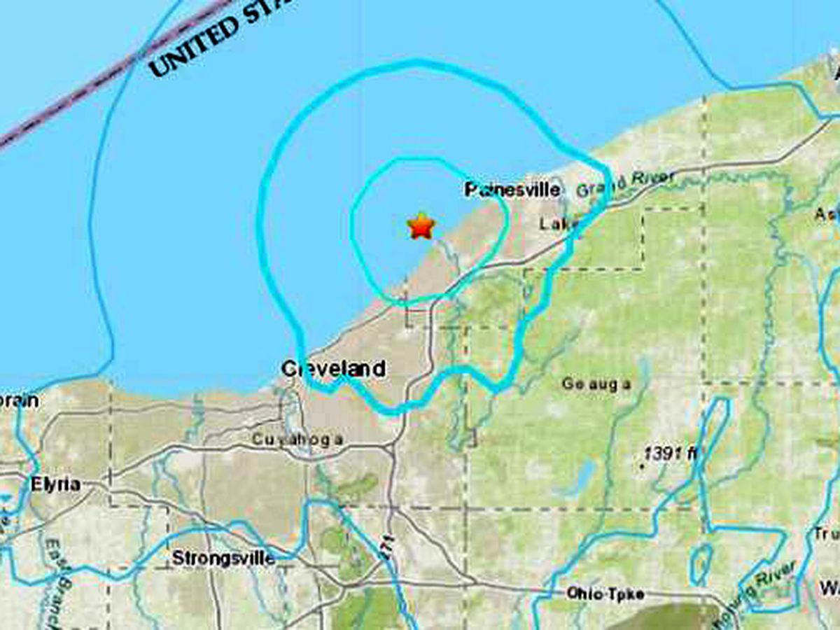 Thousands filled out 'felt report' after Northeast Ohio earthquake, but now what?