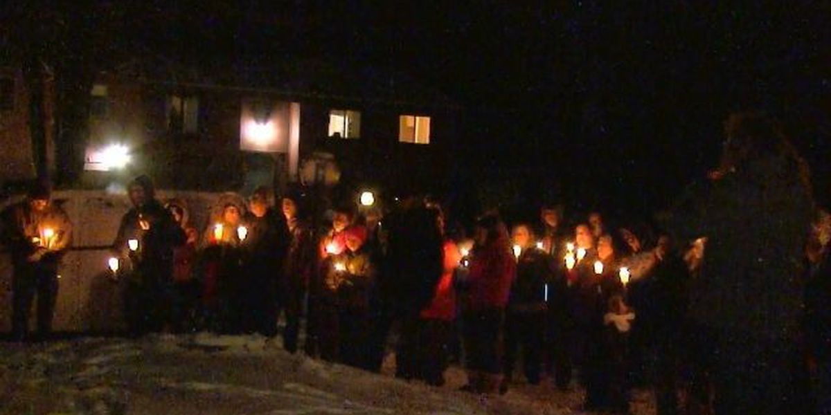 Vigil for Massillon man murdered on New Year's Eve