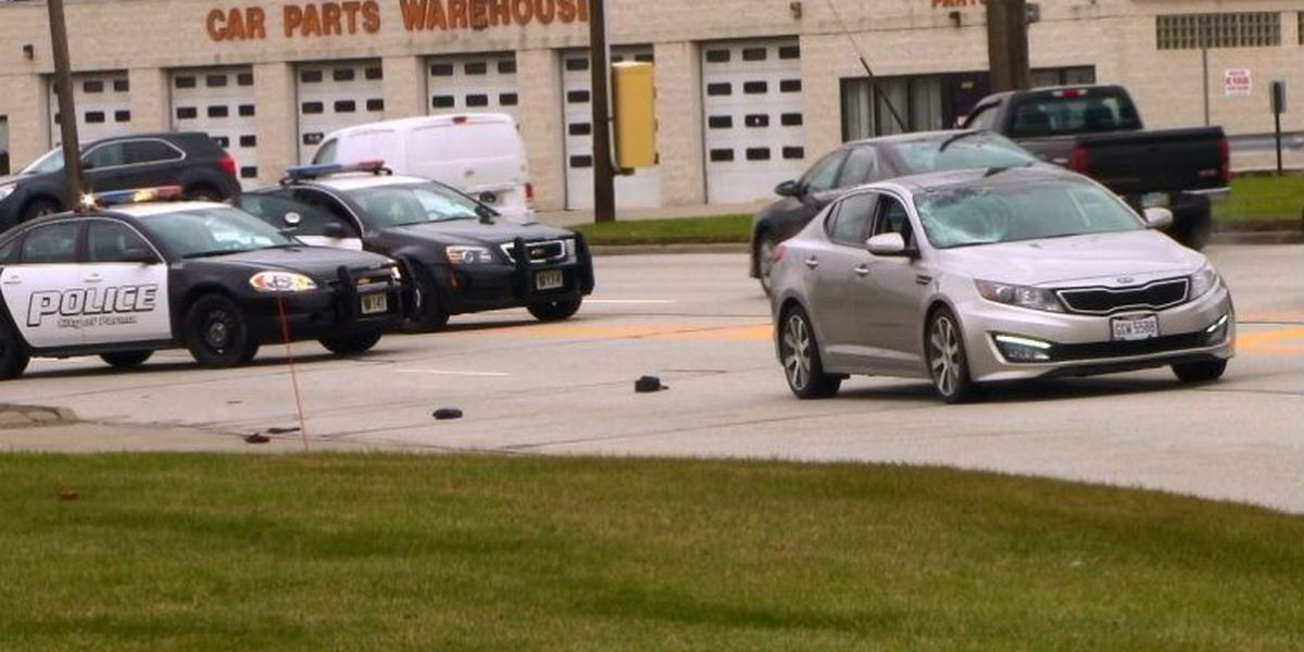 Pedestrian hospitalized after struck by vehicle in Parma