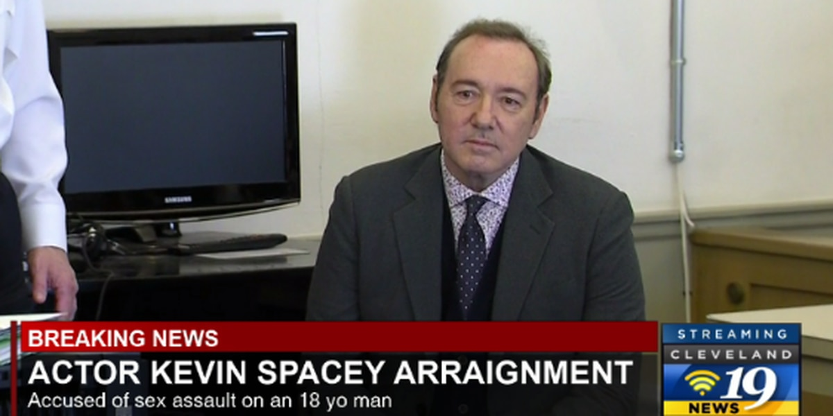 Lawyers for Kevin Spacey enter not guilty plea on accusations of groping a young man