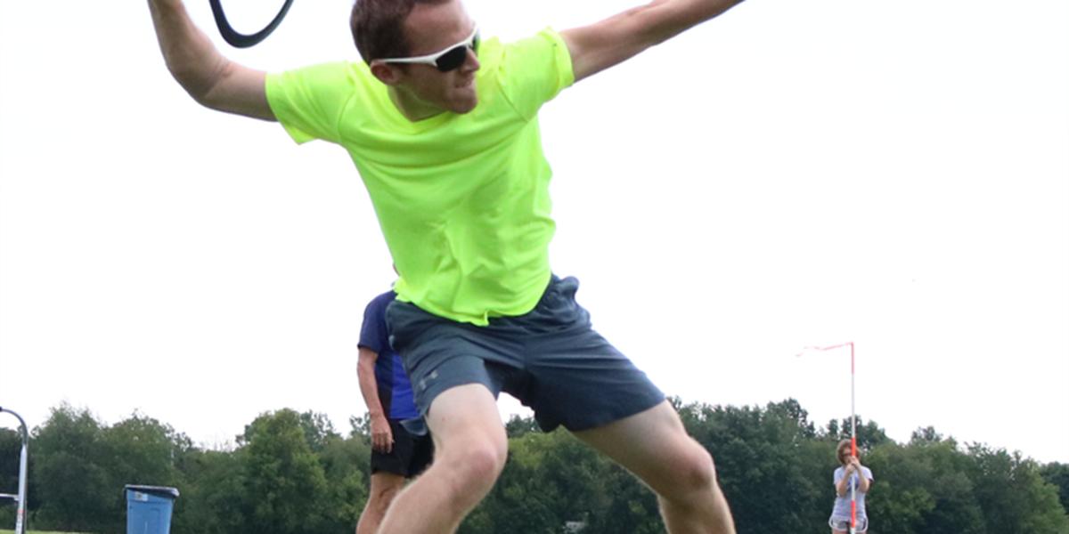 Northeast Ohio man training for Boomerang World Championship