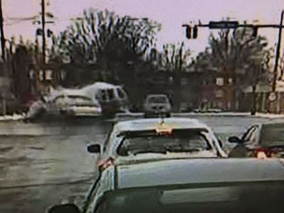Woman standing on corner in Euclid severely injured during car crash
