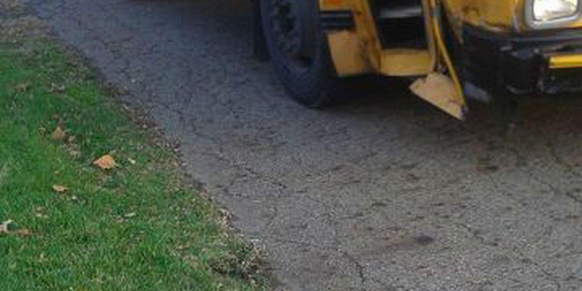 4 kids injured in Canton school bus crash
