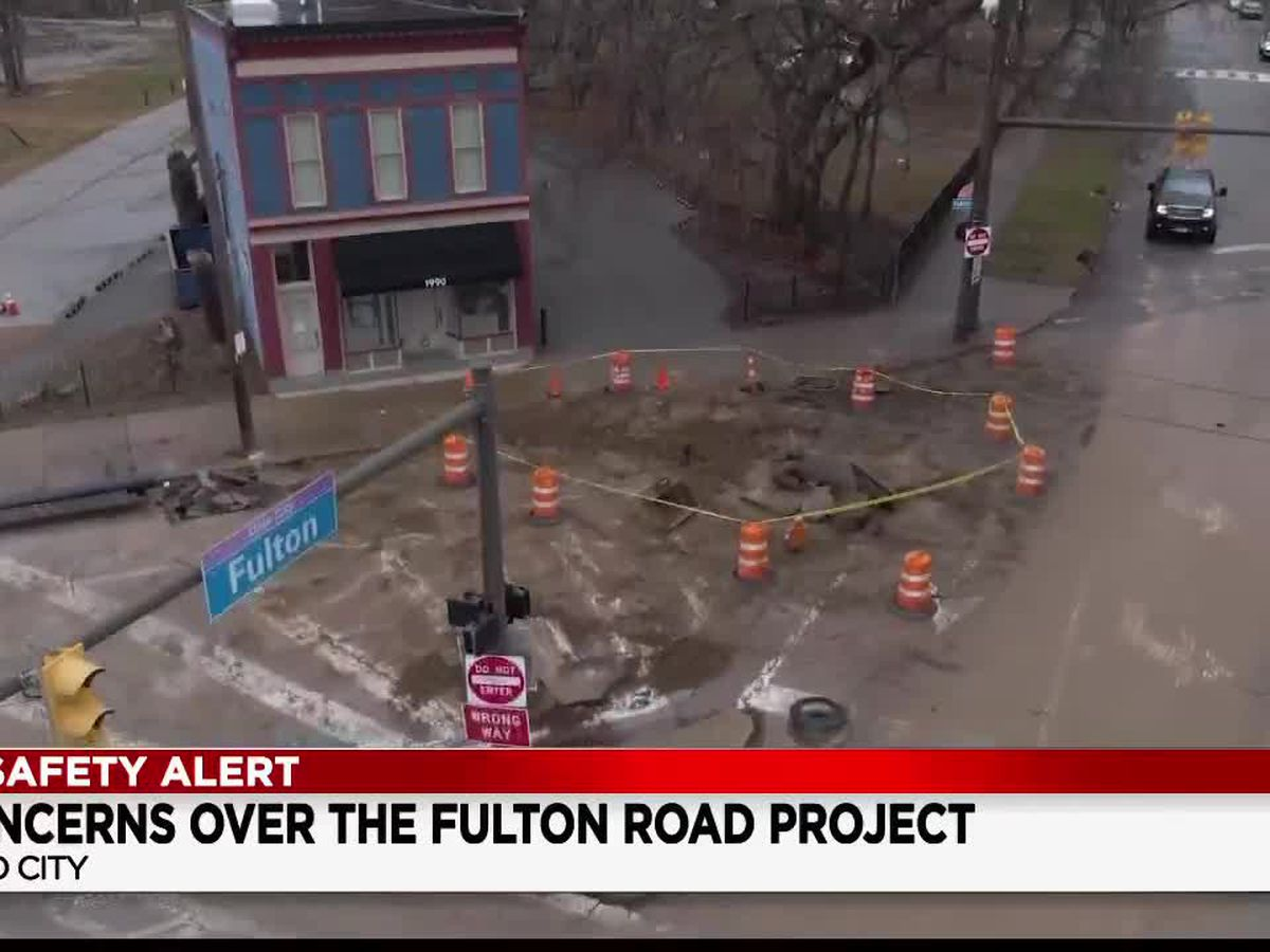 Ohio City residents voice concern over traffic headaches on Fulton Road surrounding construction project