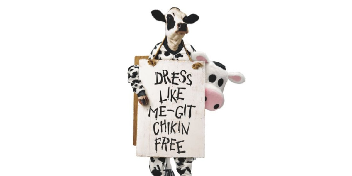 Dress up like a cow and score free Chick-fil-A for Cow Appreciation Day