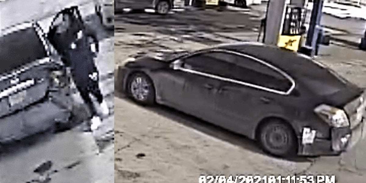 Cleveland Police search for man who stole woman's car at Gas Express