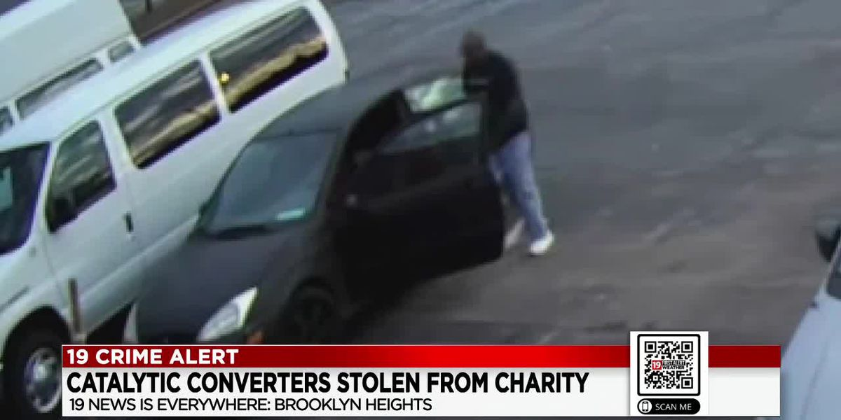 CAUGHT ON CAMERA: Brooklyn Heights non-profit desperate for help after thieves steal their catalytic converters for the 20th time