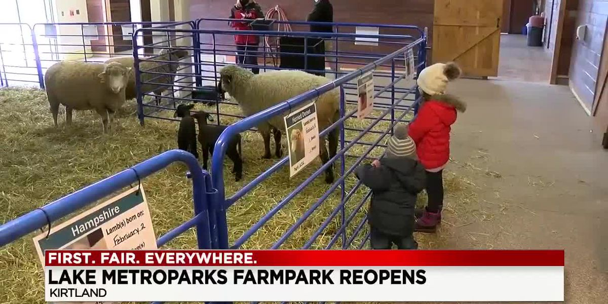 Lake Metroparks Farmpark reopens for the first time since November