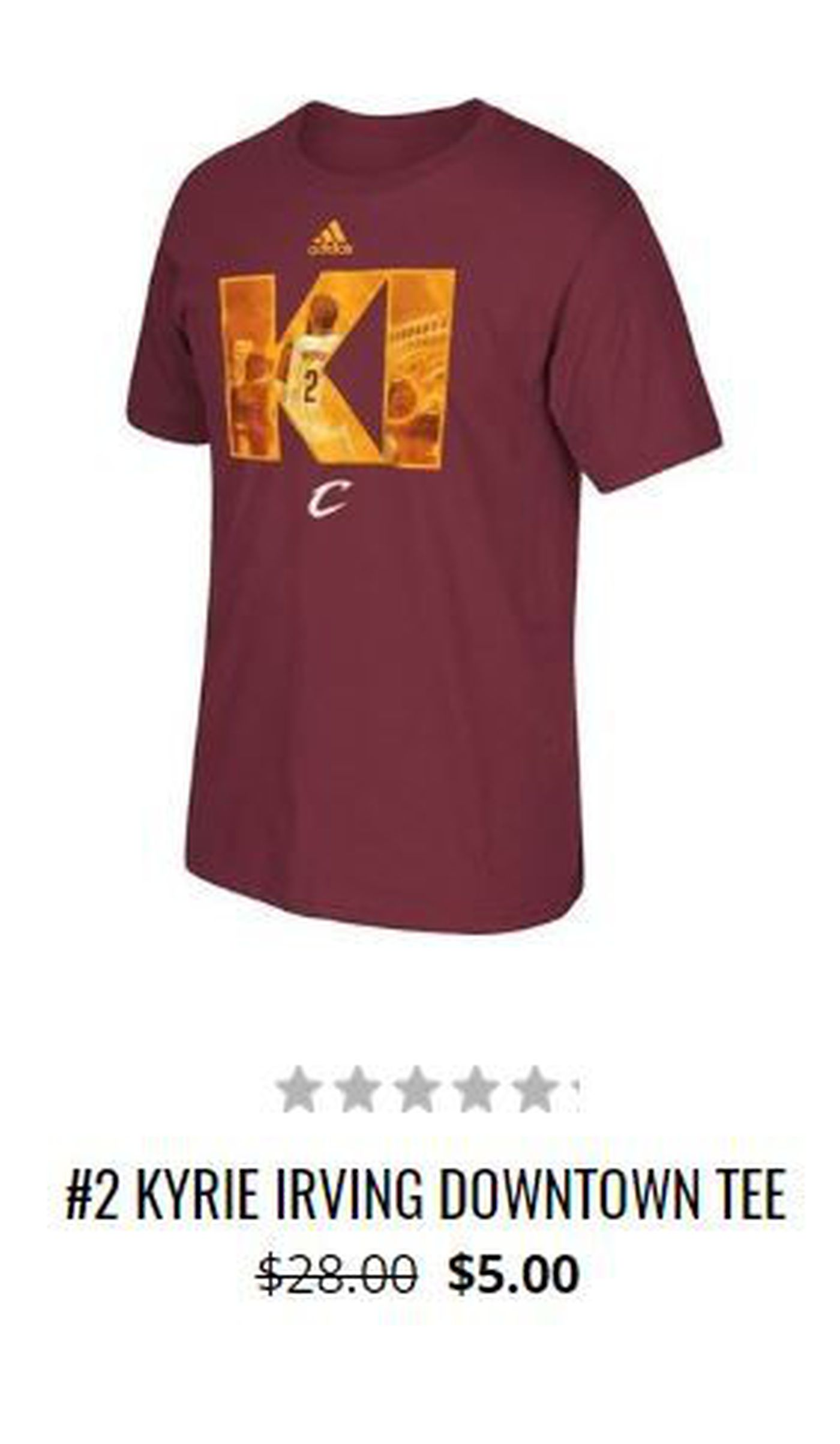 low priced 27ae3 bae09 Kyrie Irving merchandise selling for just dollars at ...