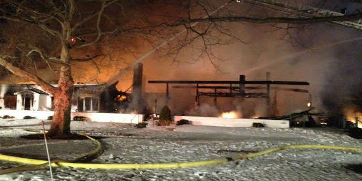 Guilty plea in country club arson