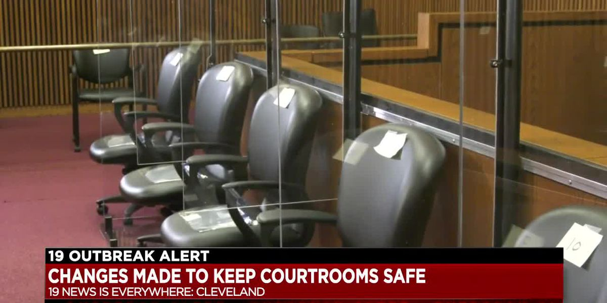 Cuyahoga County courthouse prepares for jury trials to resume in COVID-19 era