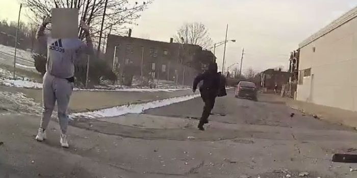 Cleveland Police release body cam footage of moments after carjacked vehicle crashes, killing innocent 13 year old