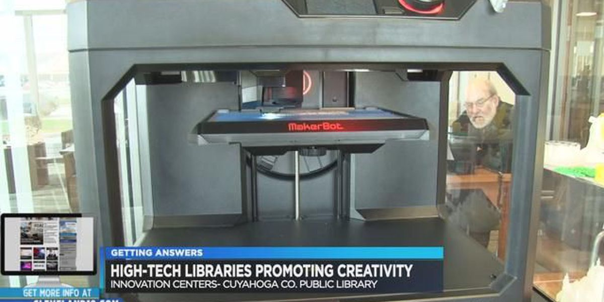 Library innovation centers breaking down barriers for artists and entrepreneurs