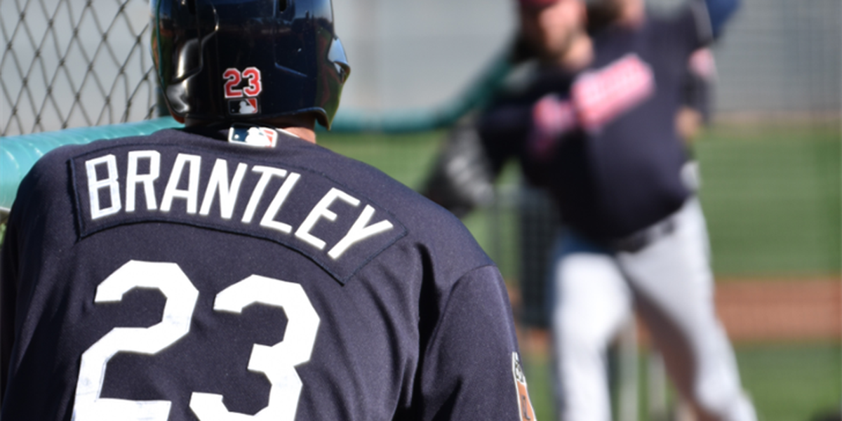 Michael Brantley could make Indians' Opening Day roster