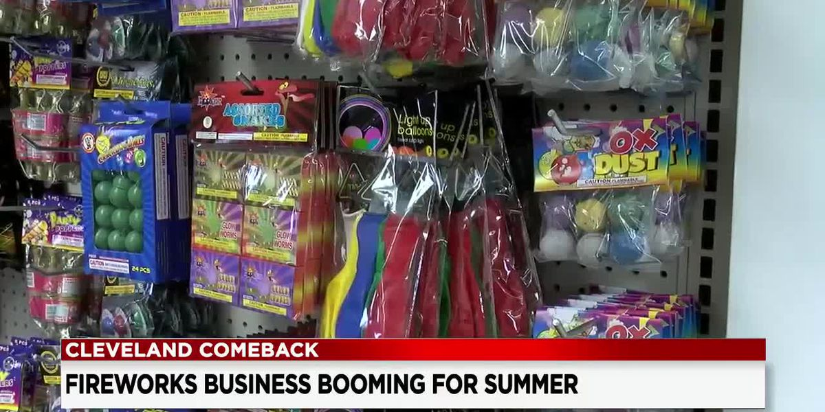 Business is booming again for American Fireworks Company, a prediction for summer normalcy