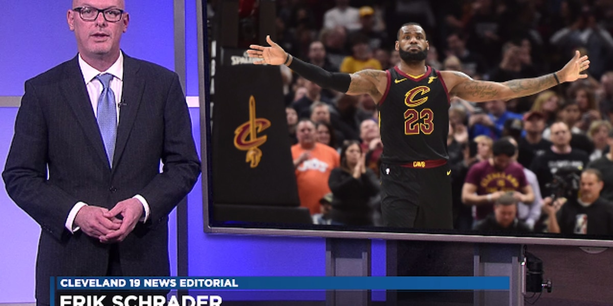 Whether LeBron stays or goes, he will always be the King of Cleveland (editorial)