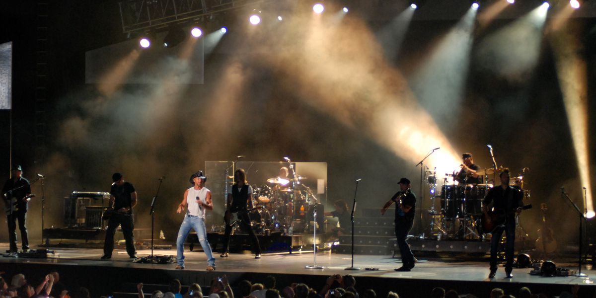 Tim McGraw concert at Tom Benson Hall of Fame Stadium canceled