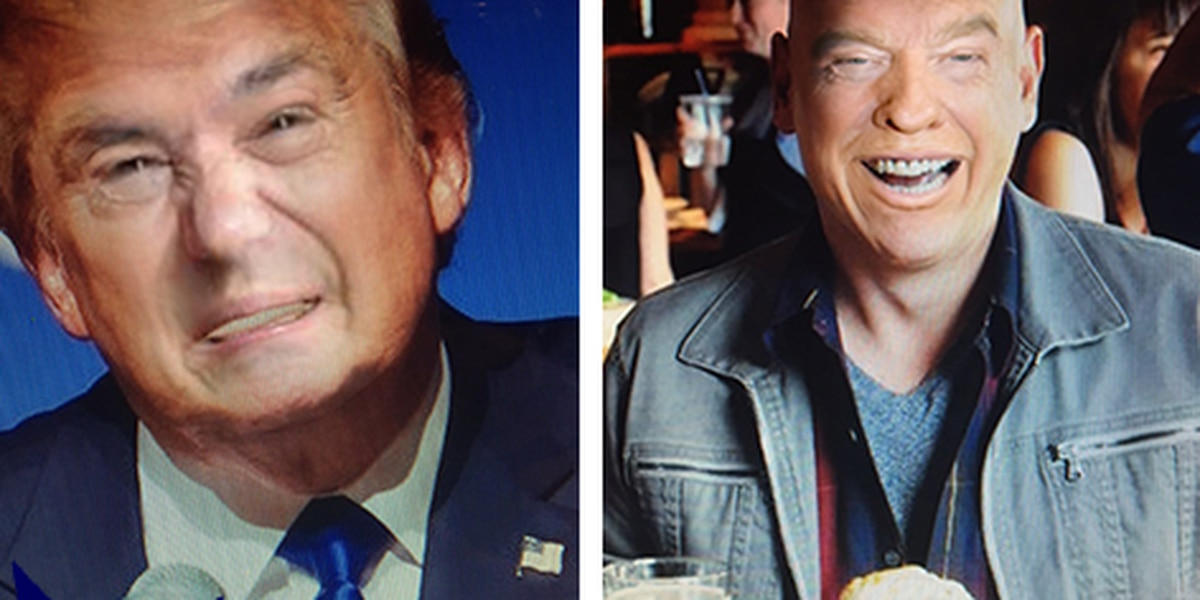 Face Swaps of Donald Trump with notable Clevelanders are disturbingly funny
