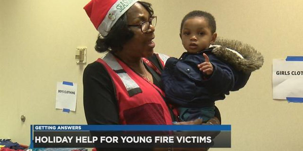 Cleveland Red Cross delivers Christmas joy to fire victims