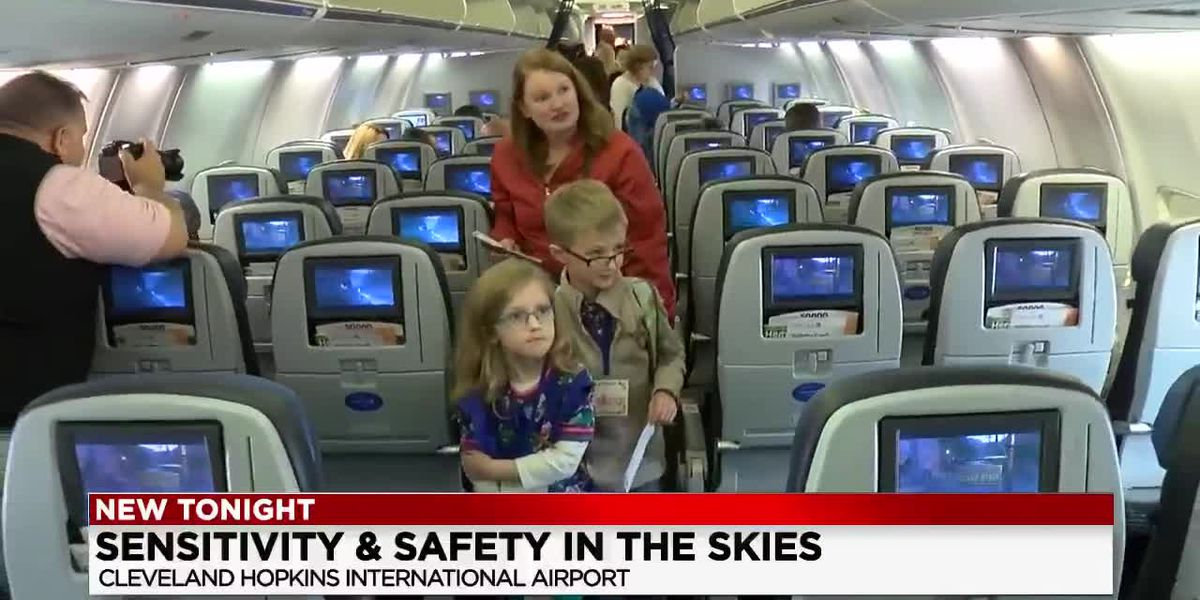 'Wings for All' helps people with autism get used to flying on planes