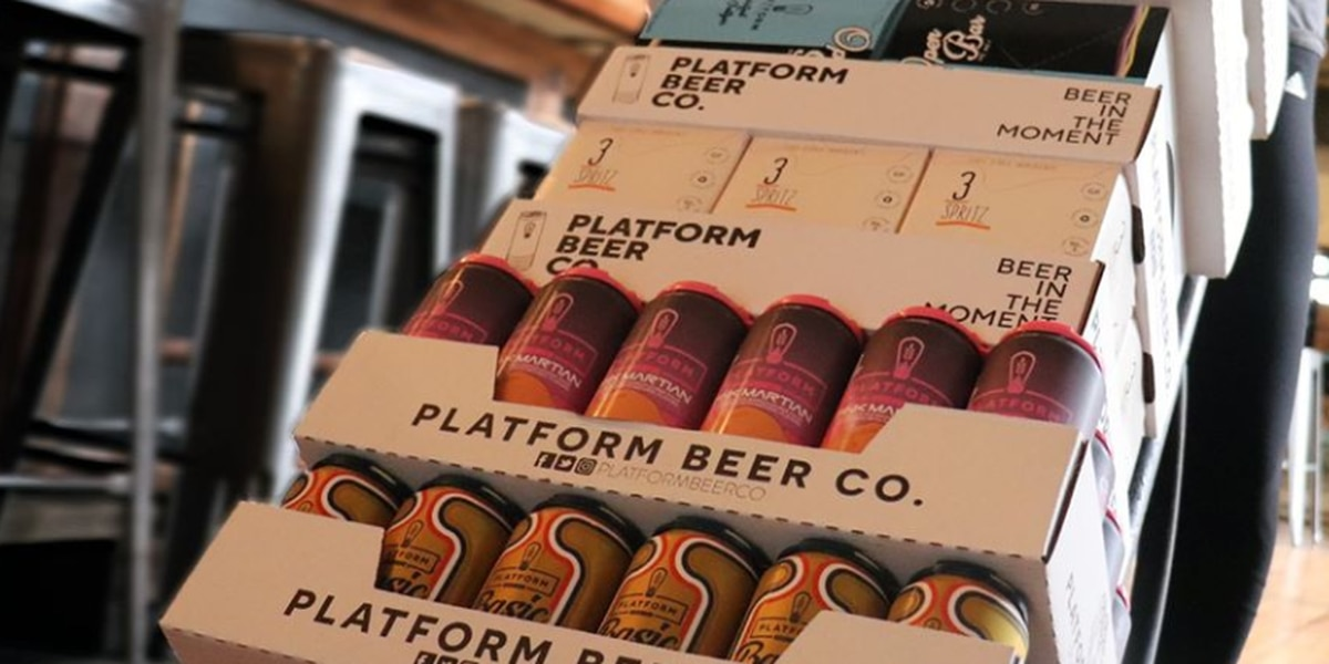 Platform Beer Co. launches delivery service, which will also aid local businesses