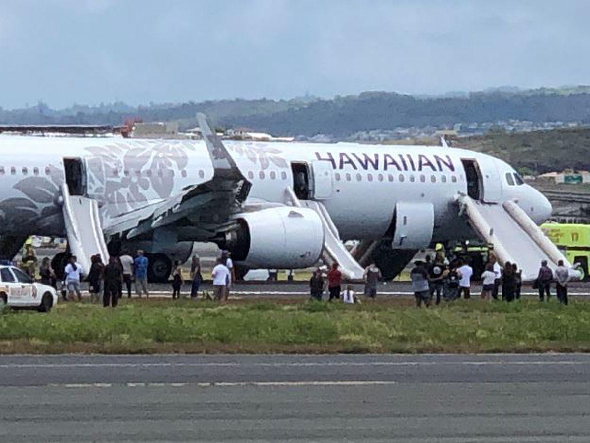 7 taken to hospital after Hawaiian Air plane fills with smoke before making emergency landing