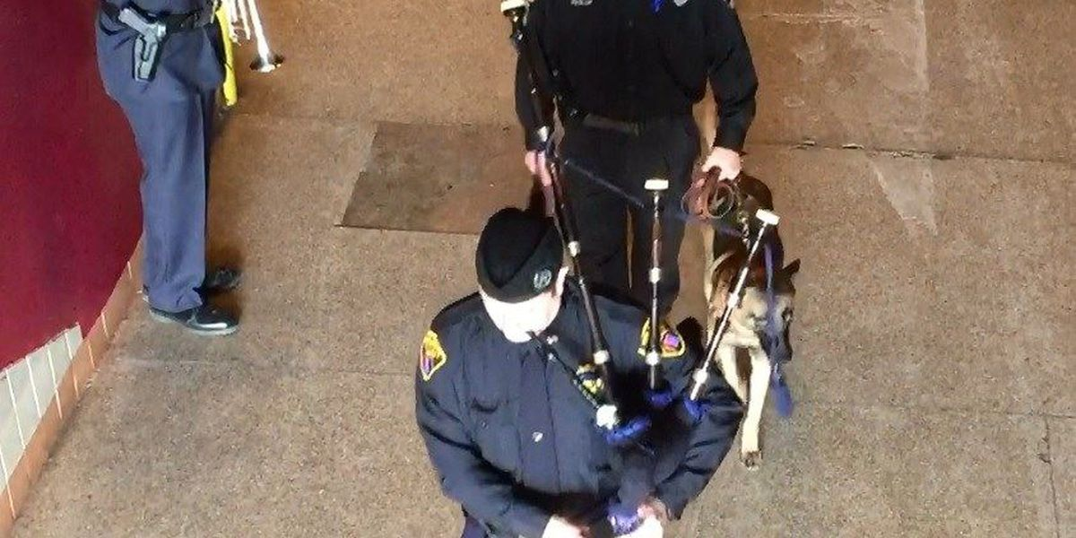 Saying Goodbye: K-9 Jethro's end of watch